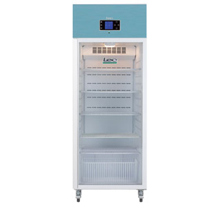 LEC PGR600UK - Pharmacy Fridge 600 Litre with Glass Door