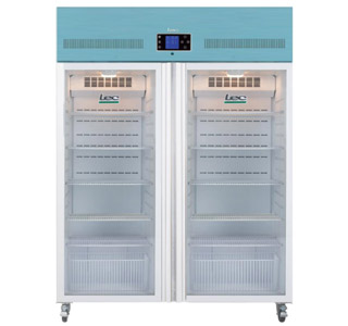 LEC PGR1200UK - Pharmacy Fridge 1200 Litre with Glass Door