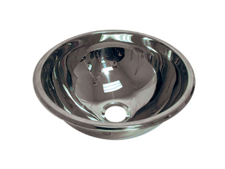 HTM64 Hemispherical Inset Stainless Steel Bowl