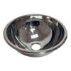 HTM64 Hemispherical Inset Stainless Steel Bowl