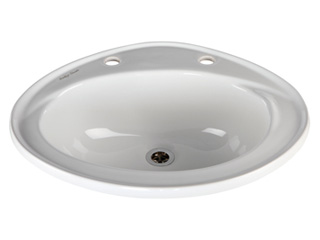 Vitreous China Inset Washbasin