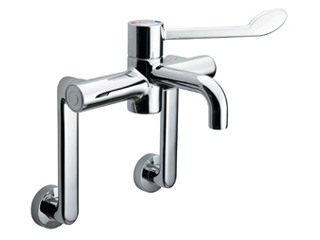 HTM64 Sequential Thermostatic Mixer Tap with Extended Legs