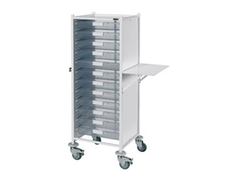 VISTA 120 Trolley - 12 Single Clear Trays