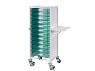 VISTA 120 Trolley - 12 Single Green Trays