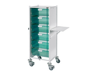 VISTA 120 Trolley - 6 Double Green Trays