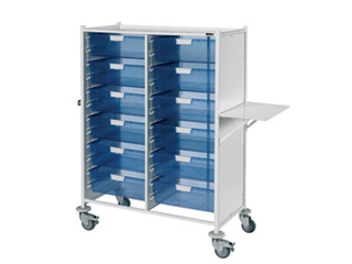 VISTA 240 Trolley - 12 Double Blue Trays