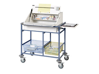 Ward Drug & Medicine Dispensing Trolley - Small