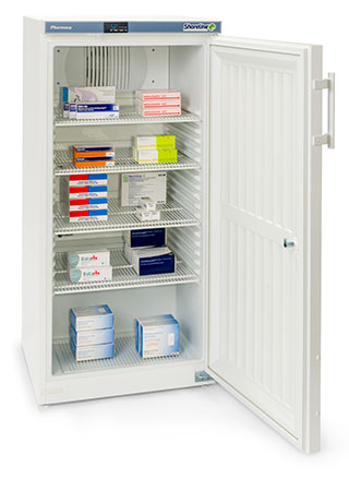Shoreline SM264 - 236 Litres Pharmacy Fridge with Solid Door
