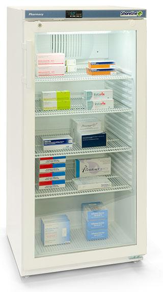 Shoreline SM264G - 236 Litres Pharmacy Fridge with Glass Door