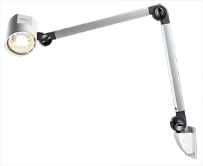 Coolview Eco Examination Lamp with Flexible Arm Mobile Mounted