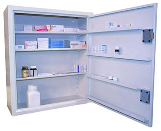 Controlled Drugs Cupboard | 196 Litre