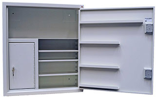 Controlled Drugs Cabinet 160 Litre External/46 Litre Internal