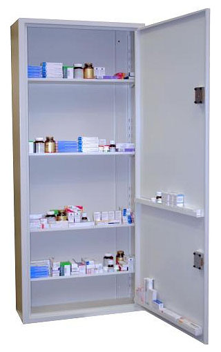 406 Litre Controlled Drugs Cabinet