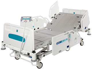 Innov8 iQ Hospital Ward Bed with Split Side Rails