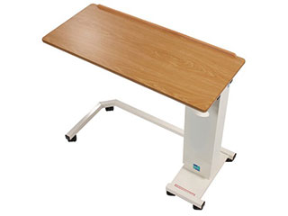 Easi-Riser Overbed Table with Wheelchair Base