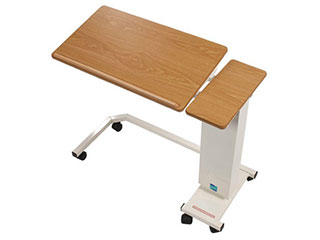 Easi-Riser Overbed Table with Tilting Top & Wheelchair Base