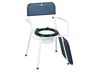 Stackable Commode with Extending Legs