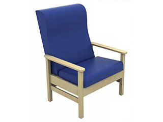 High-Back Bariatric Arm Chair
