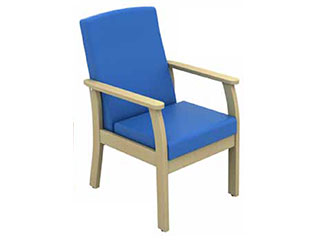 Low-Back Arm Chair