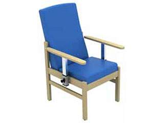 Mid-Back Arm Chair with Drop Arms