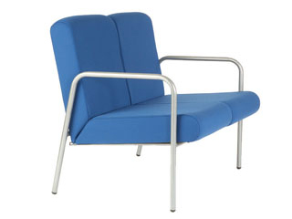 Easy 2 Seater Chair with Arms