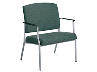 Bariatric 240kg (37st.) Stacking Arm Chair