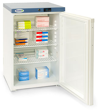 Shoreline SM1502 - 151 Litres Pharmacy Fridge with Solid Door