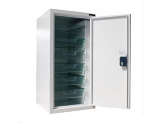 Controlled Drugs Cabinet 157 Litre with Six Plastic Trays
