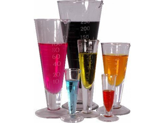 100ml Glass Conical Measure