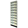 Full Height Unit 215mm Depth with Eight Shelves