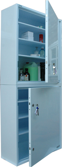 Controlled Drugs Cabinet Double 401 Litre 760mm (W)