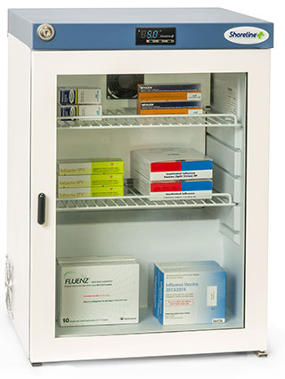 Shoreline SM60G - 60 Litres Pharmacy Fridge with Glass Door