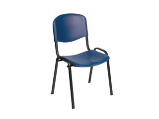 Visitor chair - blue