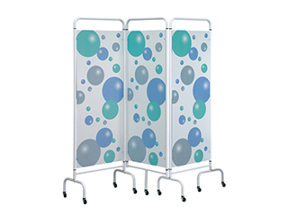 Three Panel Screen - Bubble Design