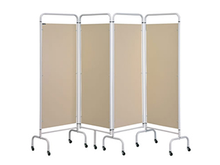 Four Panel Screen - Beige
