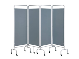 Four Panel Screen - Silver