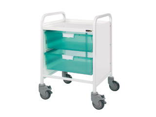 Vista 20 Trolley - 2 Double Green Trays