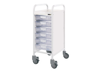 Vista 30 Trolley - 6 Single Clear Trays
