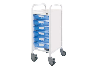 Vista 30 Trolley - 6 Single Blue Trays