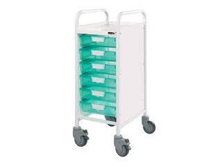 Vista 30 Trolley - 6 Single Green Trays
