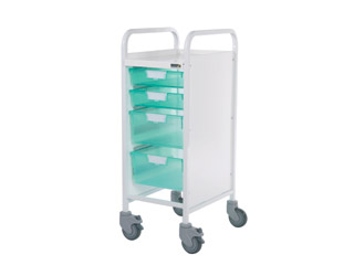 Vista 30 Trolley - 2 Single/2 Double Green Trays
