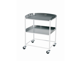 Dressing Trolleys - 2 Stainless Steel Trays
