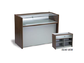 1/3 Glass Display Counter