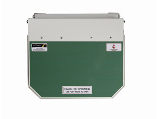 20 Litre Clinical Bin with Green Lid - User defined