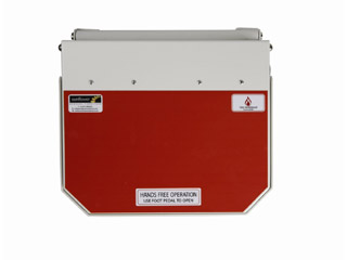 50 Litre Clinical Bin with Orange Lid - Waste which may be treated