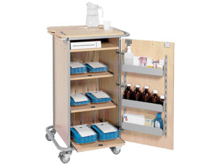 6 Rack MDS Administration Trolley