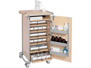 Small Unit Dosage Trolley