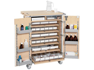 Large Unit Dosage Trolley