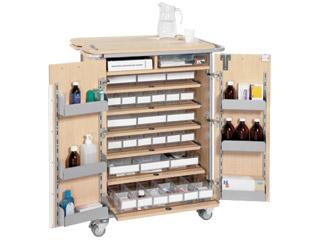 Large Unit Dosage Trolley