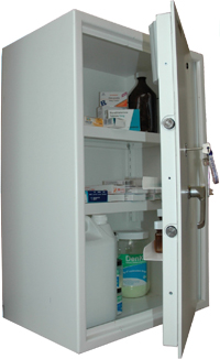Controlled Drugs Cabinet 123 Litre 750mm (H)